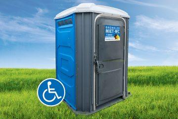 Barrierefreie Toilettenkabine