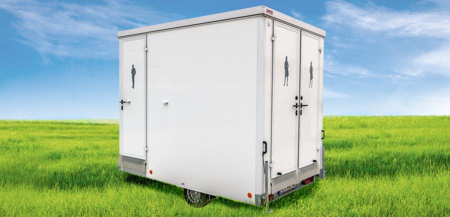Toilettenwagen Piccolo I